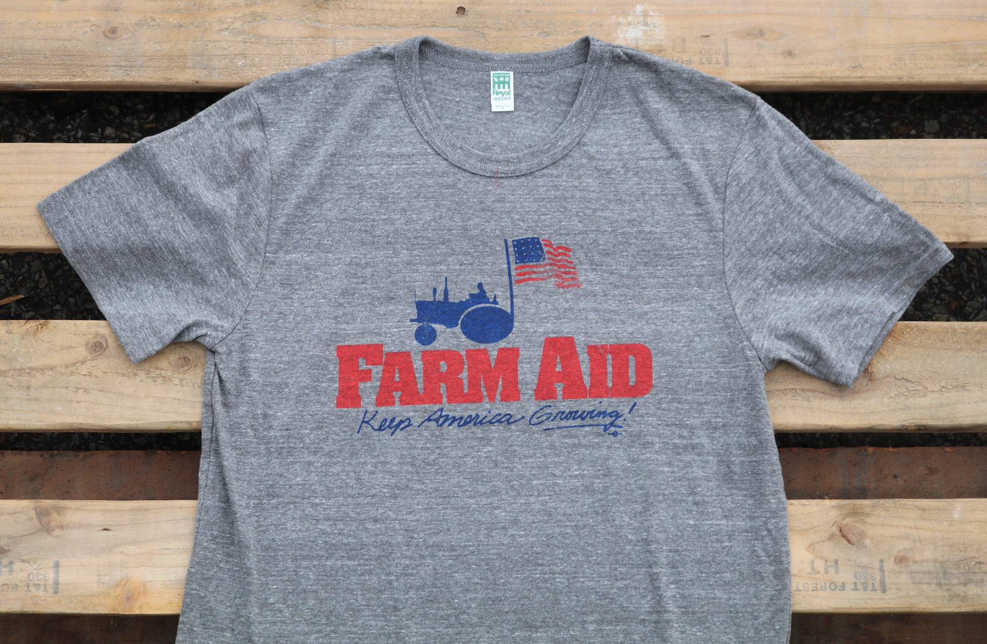 Farm Aid 2018 Throwback Tee