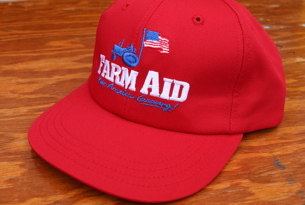 Farm Aid Tractor Cap (Red)