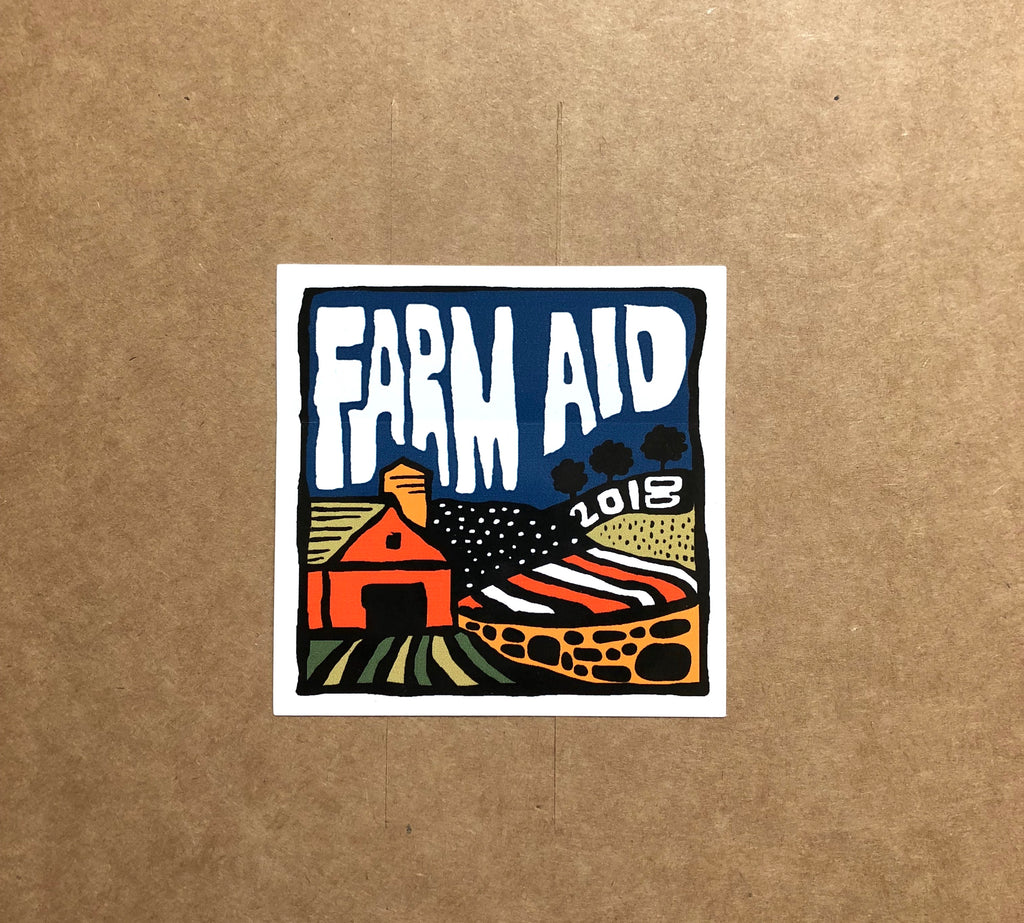 Farm Aid 2018 Sticker
