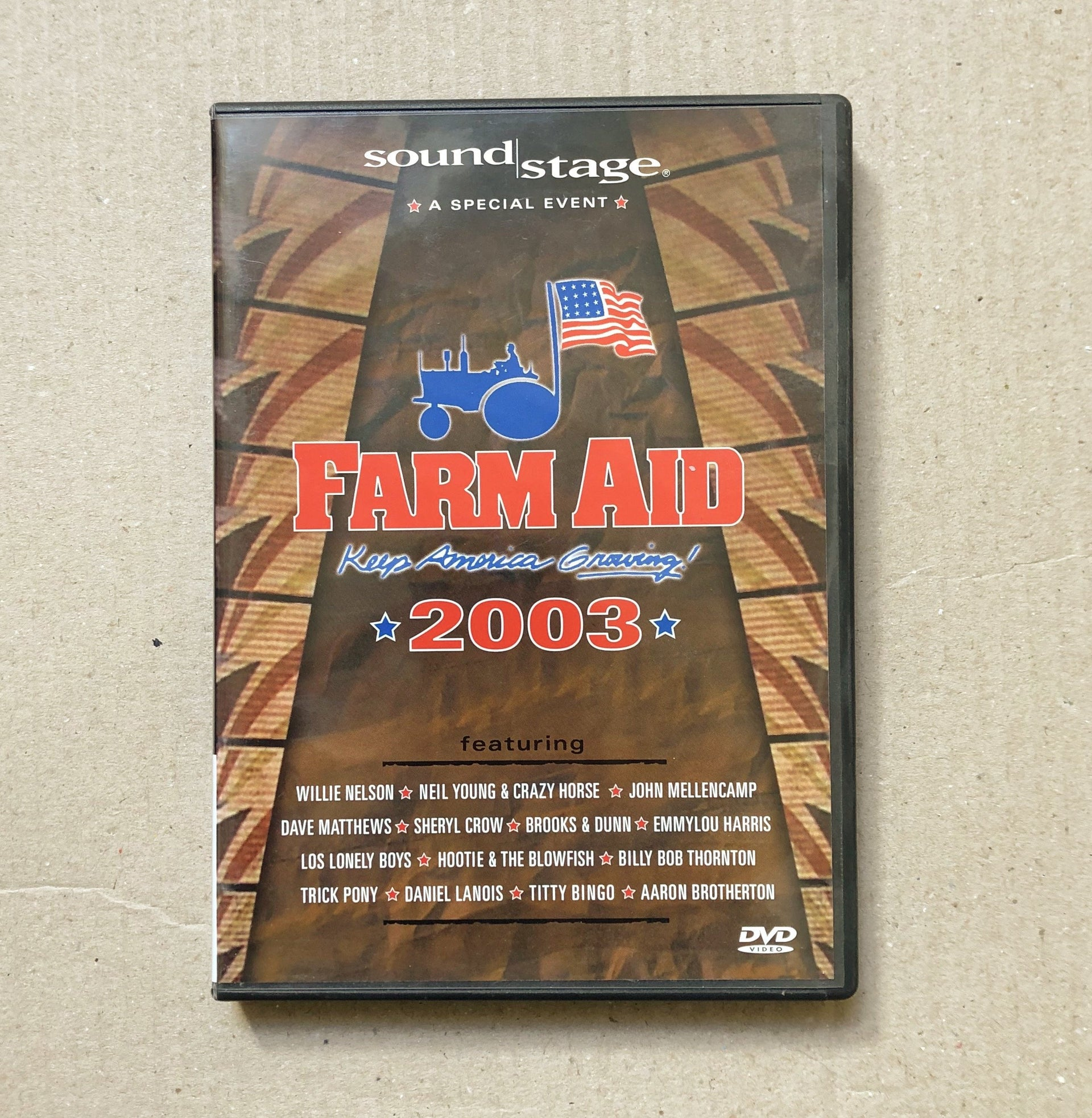 Farm Aid 2003 Concert DVD Set