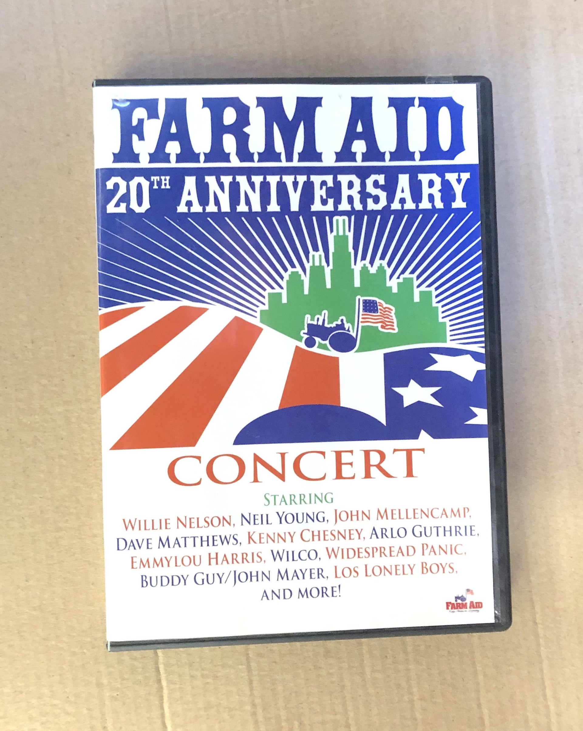 Farm Aid 20th Anniversary Concert DVD