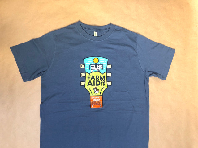 Farm Aid 2019 Logo Tee in Grey (Unisex)