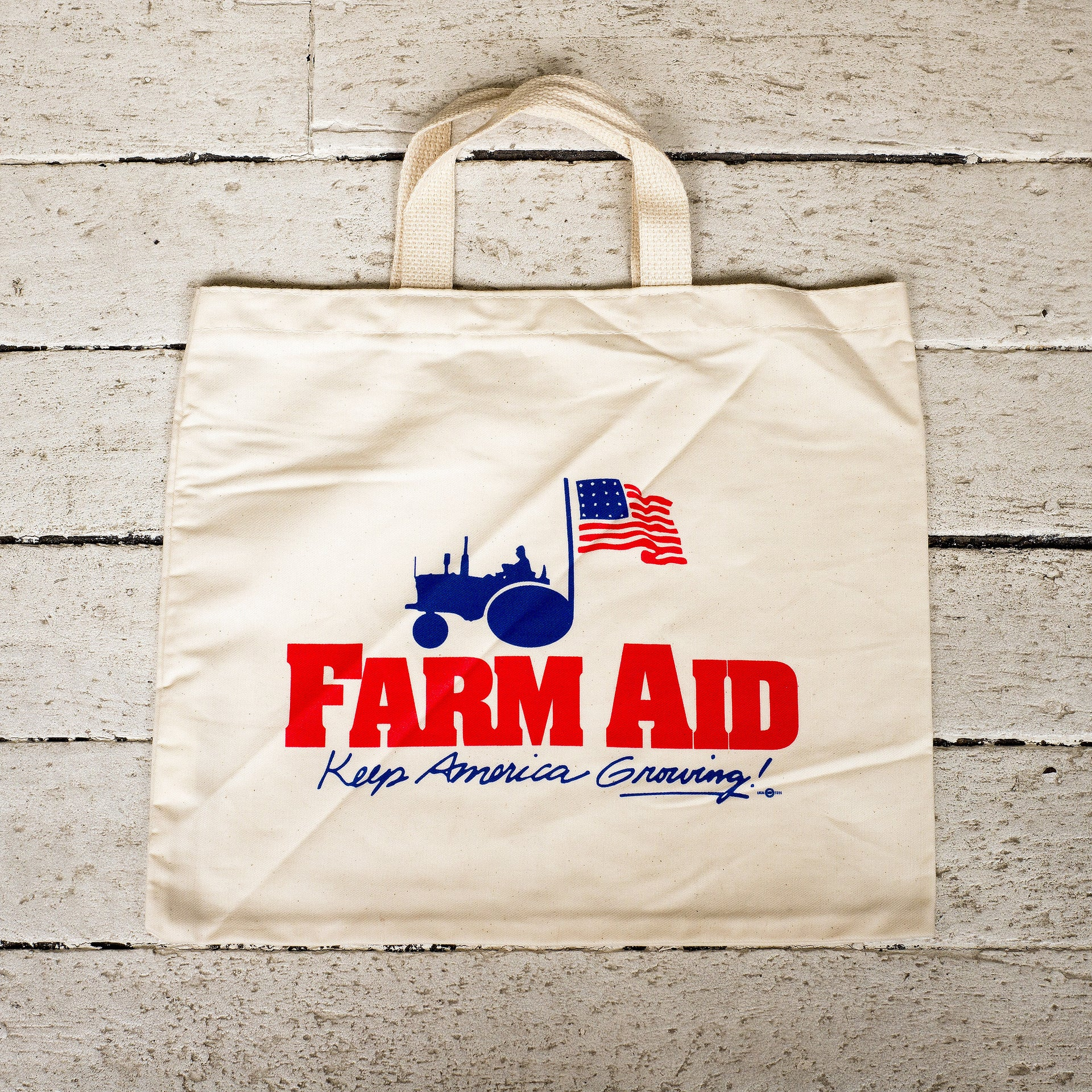 Farm Aid Logo Natural Tote Bag