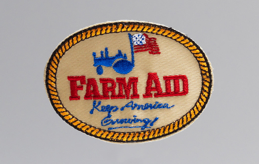 Farm Aid Logo Patch