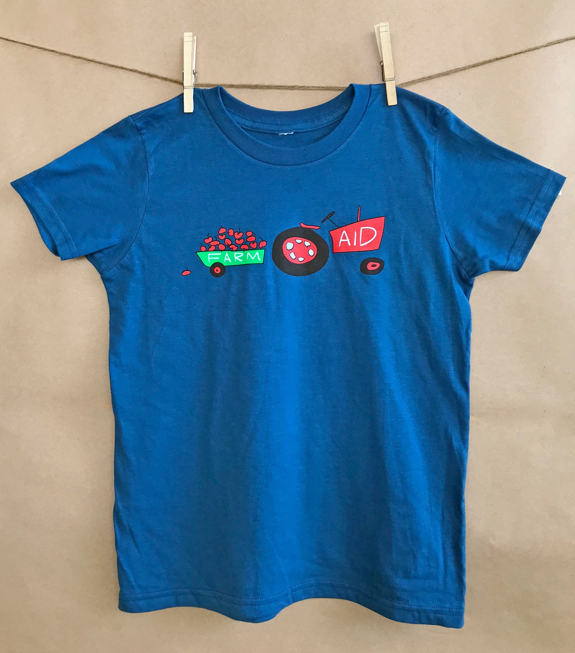 Farm Aid 2018 Kids' Apple Tee