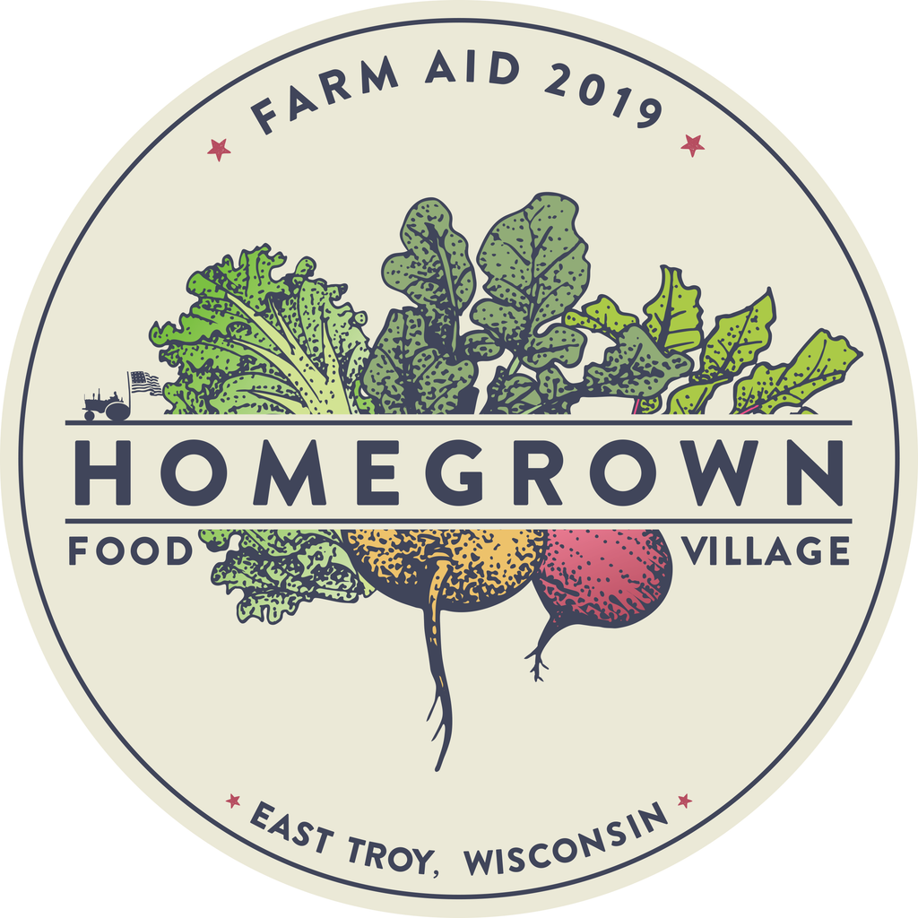 Farm Aid 2019 HOMEGROWN Sticker