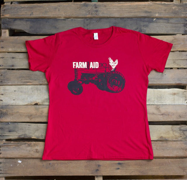 Farm Aid 30 Ladies' Tractor Shirt