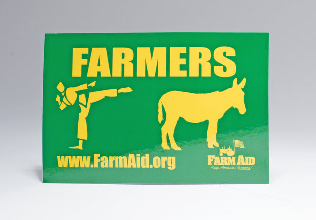 Farmers Kick Sticker