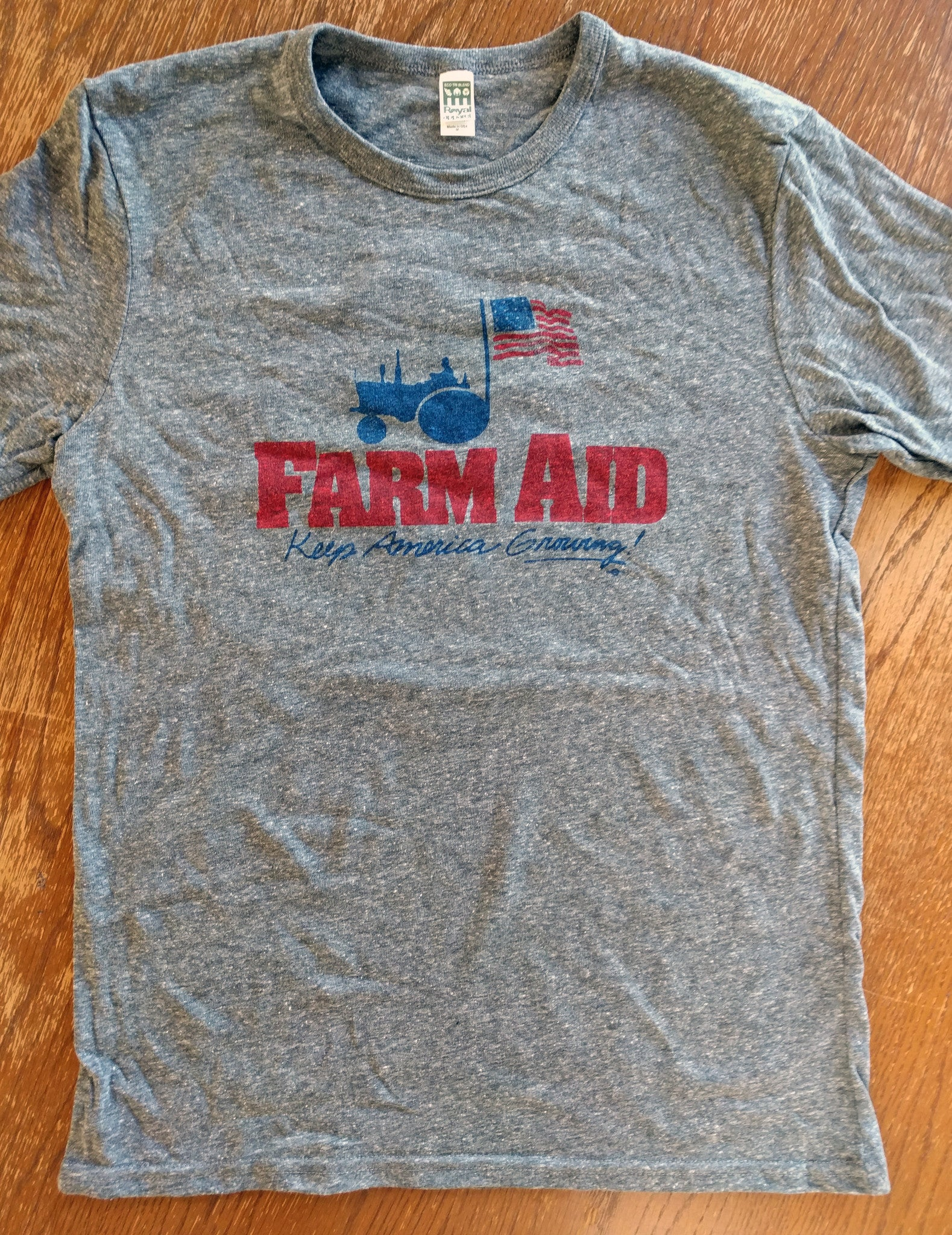 Farm Aid Retro Shirt - Unisex