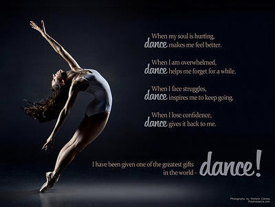 Dance Makes Me... Poster