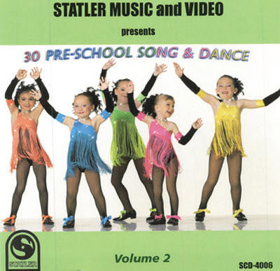 30 Pre-School Song & Dance, Vol. 2 (S-005)