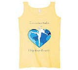 "Women's Yellow Tank Top ""I am a Dance Teacher"""