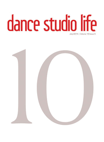 Dance Studio Life Magazine July 2014