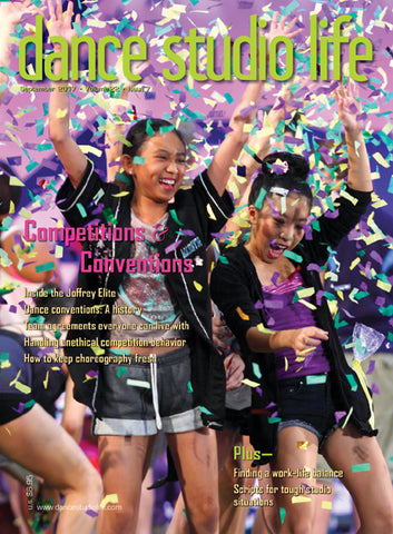 Dance Studio Life Magazine, September 2017 Issue