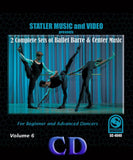 2 Complete Sets of Ballet Barre & Center Music, Volume 6 (S-015)