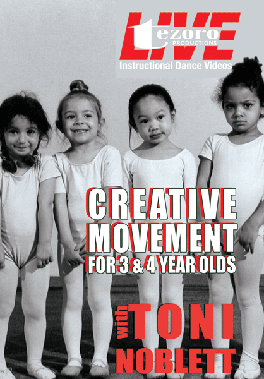 Creative Movement for 3&4 Year Olds with Toni Noblett, DVD
