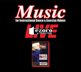 Music CD for Turns and Turn Combos with Michele Assaf