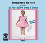"25 Pre-School Song Dance ""Nursery Rhymes"", Vol. 8 (S-002)"