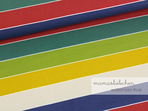 Mamasliebchen: Widestripes in Oak (JERSEY)