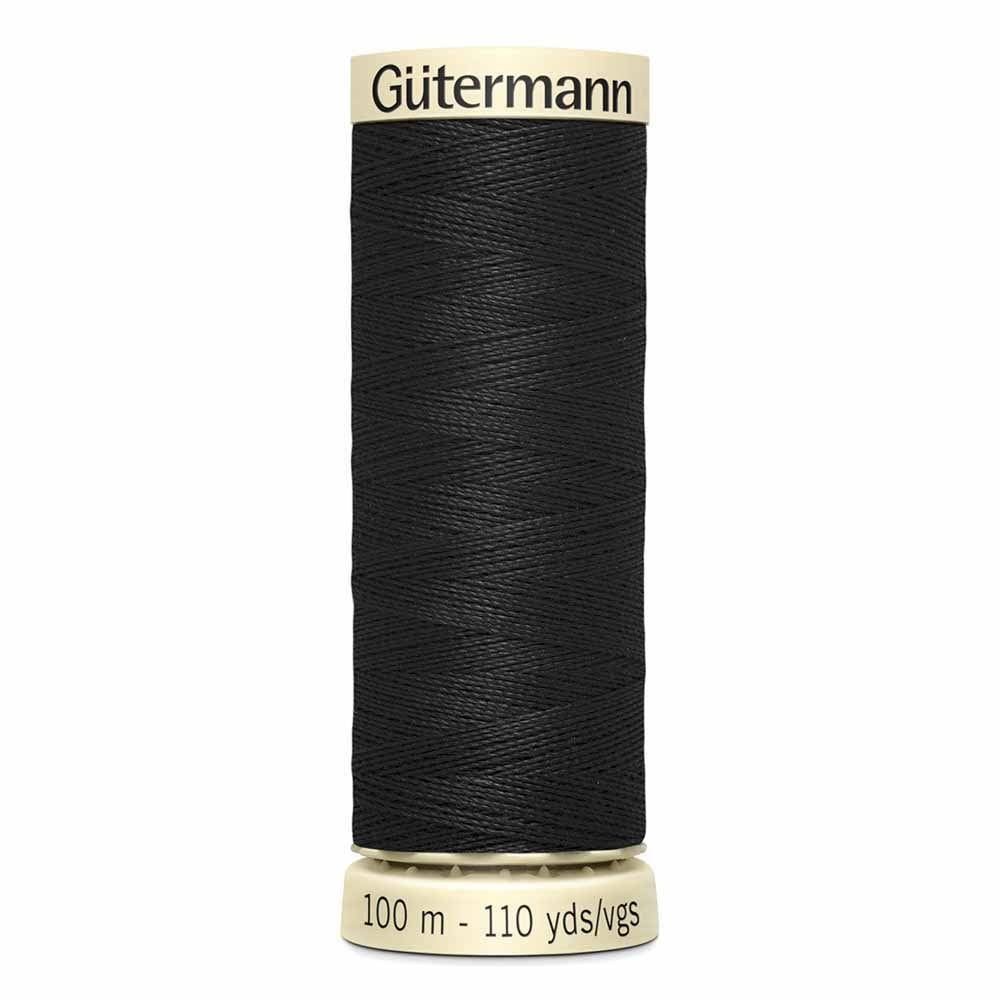 Gütermann Sew-All Thread - #010 - Black