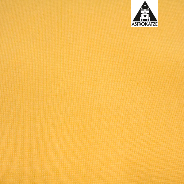 Astrokatze - Organic EXTRA WIDE cuffing in Yellow