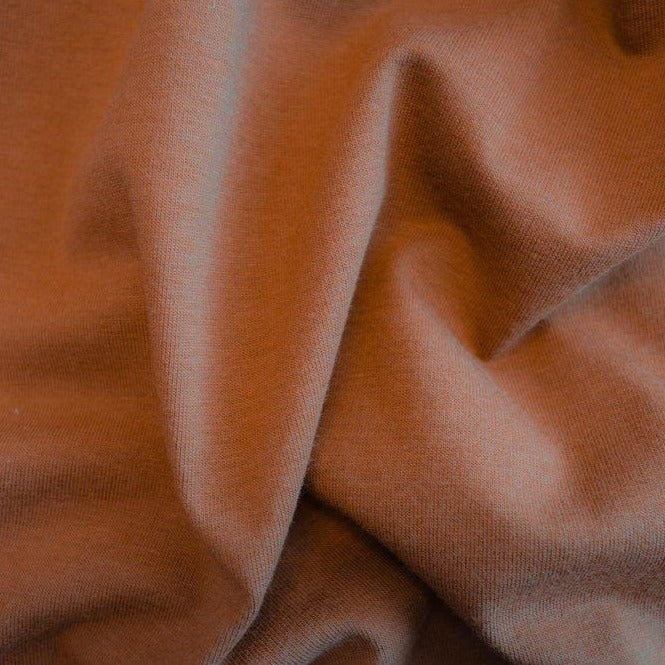 Cotton Modal Jersey Knit (200 gsm), Copper