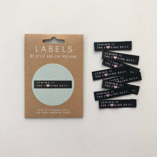Kylie and The Machine Woven Sewing Labels