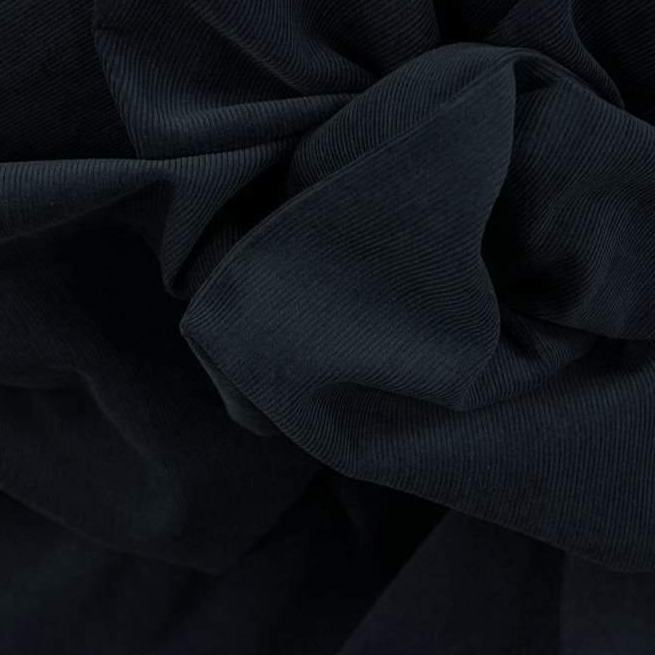 Baby Wale Non-Stretch Cotton Corduroy - Midnight Blue