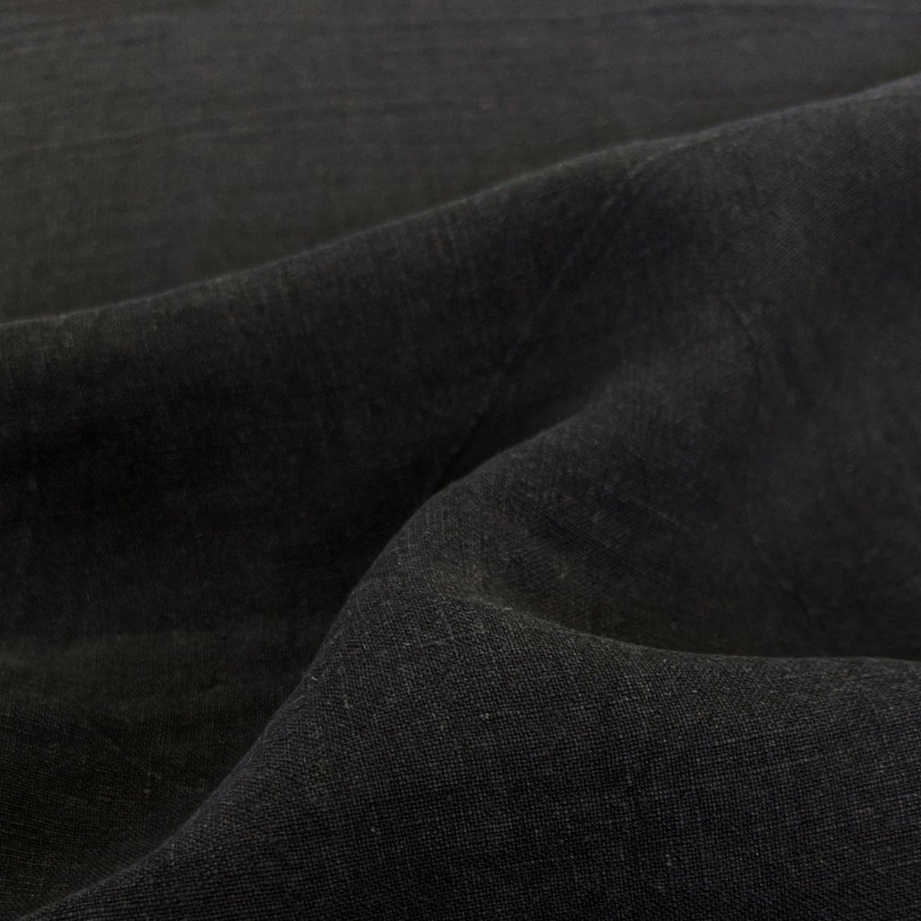 Washed Linen - Black