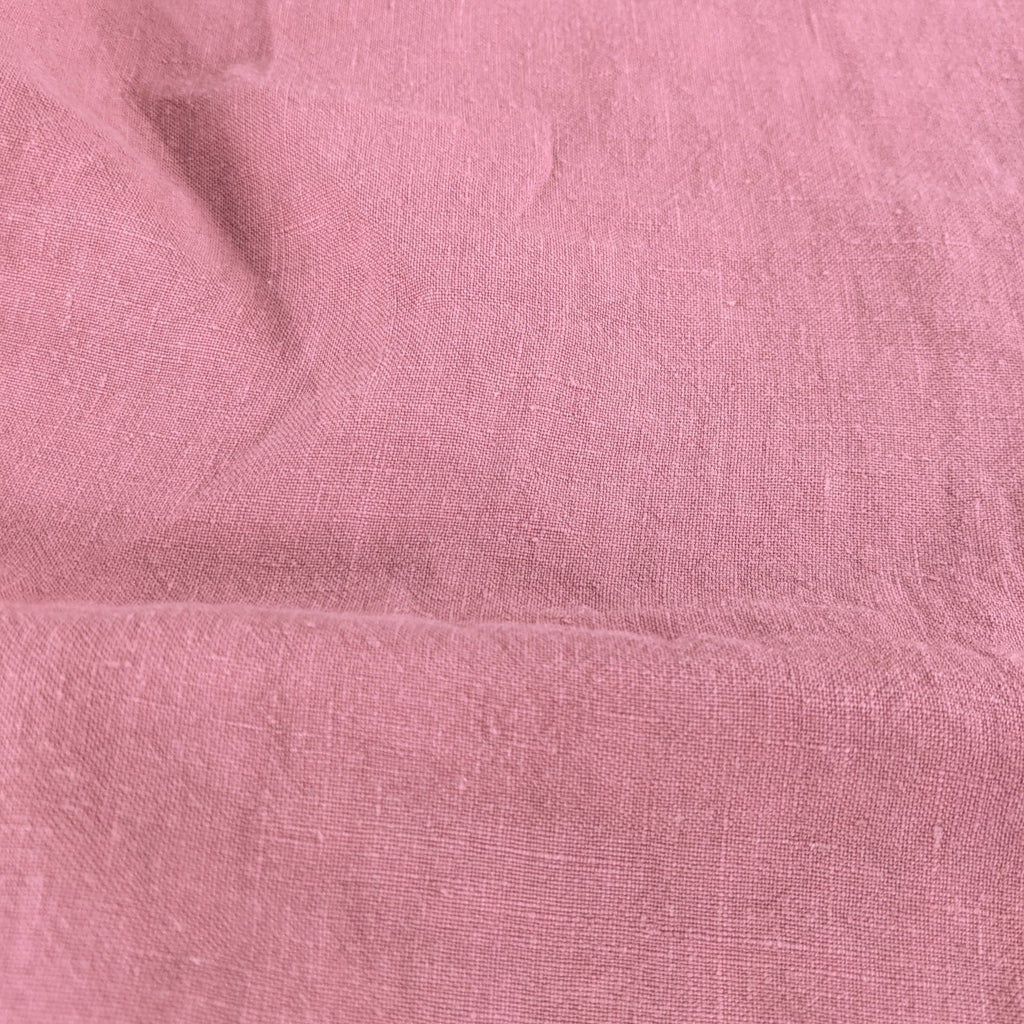 Washed Linen - Cactus Flower Pink