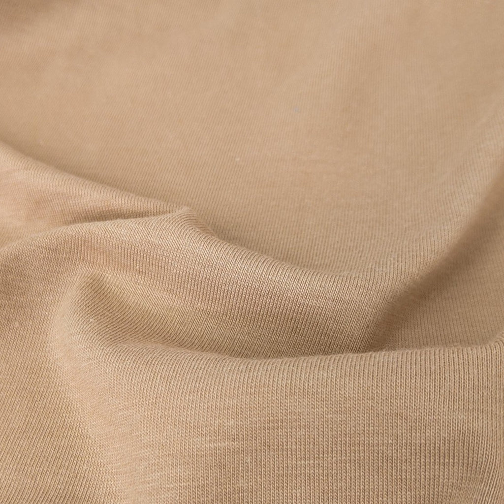 Cotton Modal Jersey Knit (200 gsm), Camel