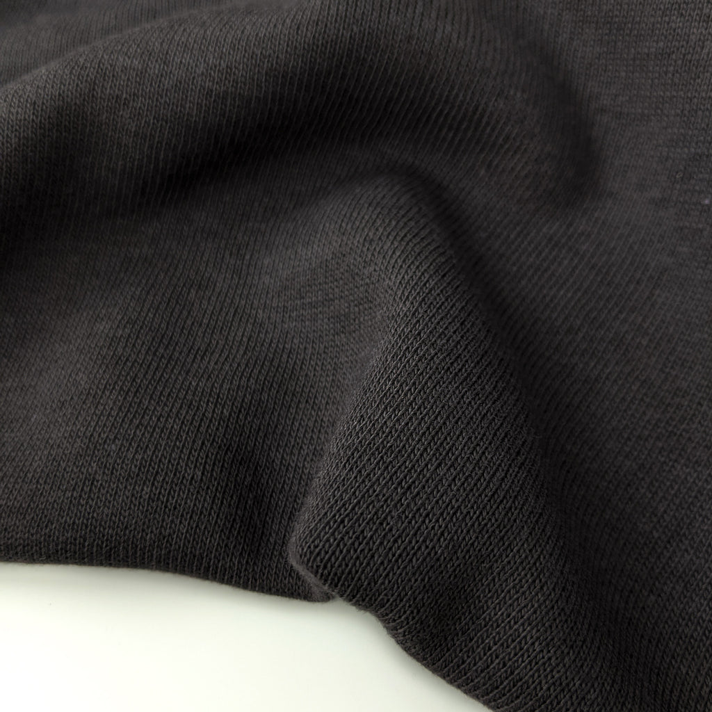 Bamboo & Cotton Sweatshirt Fleece - Charcoal