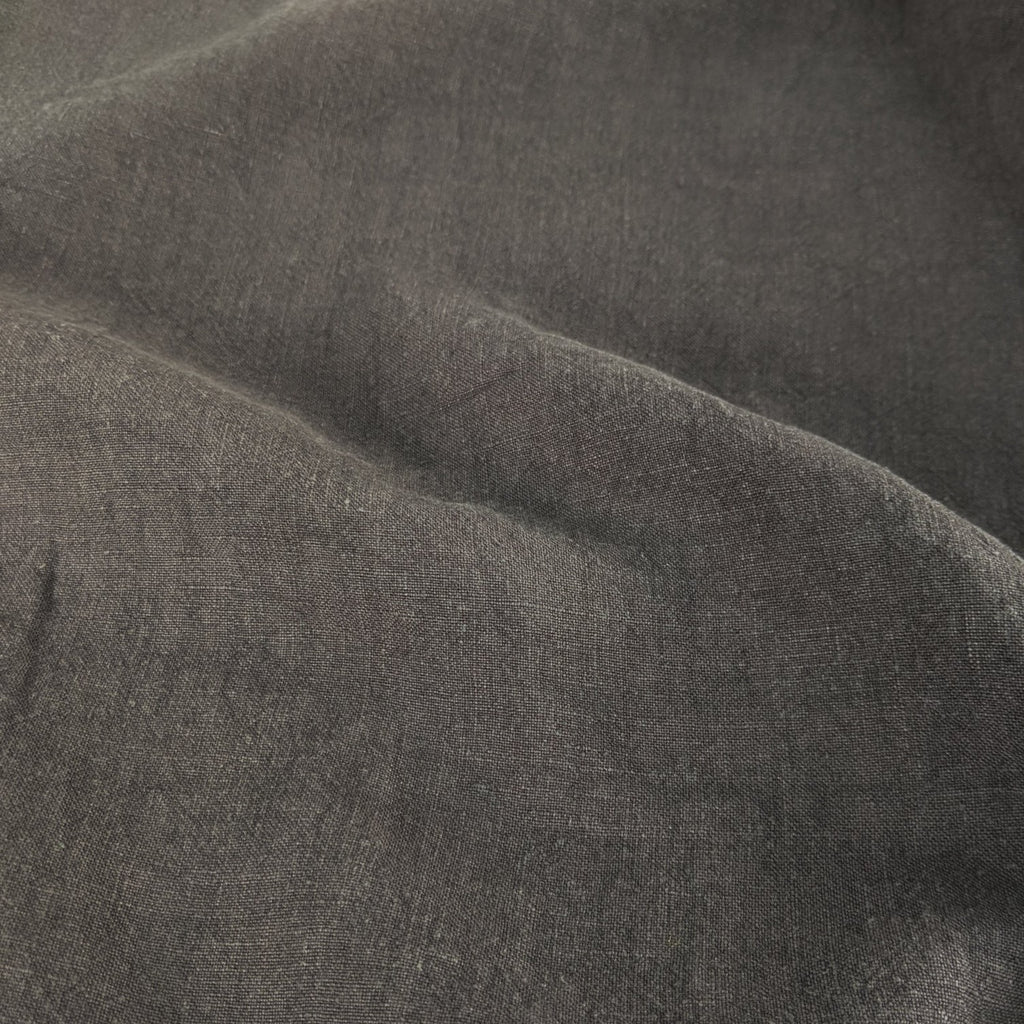 Washed Linen - Charcoal