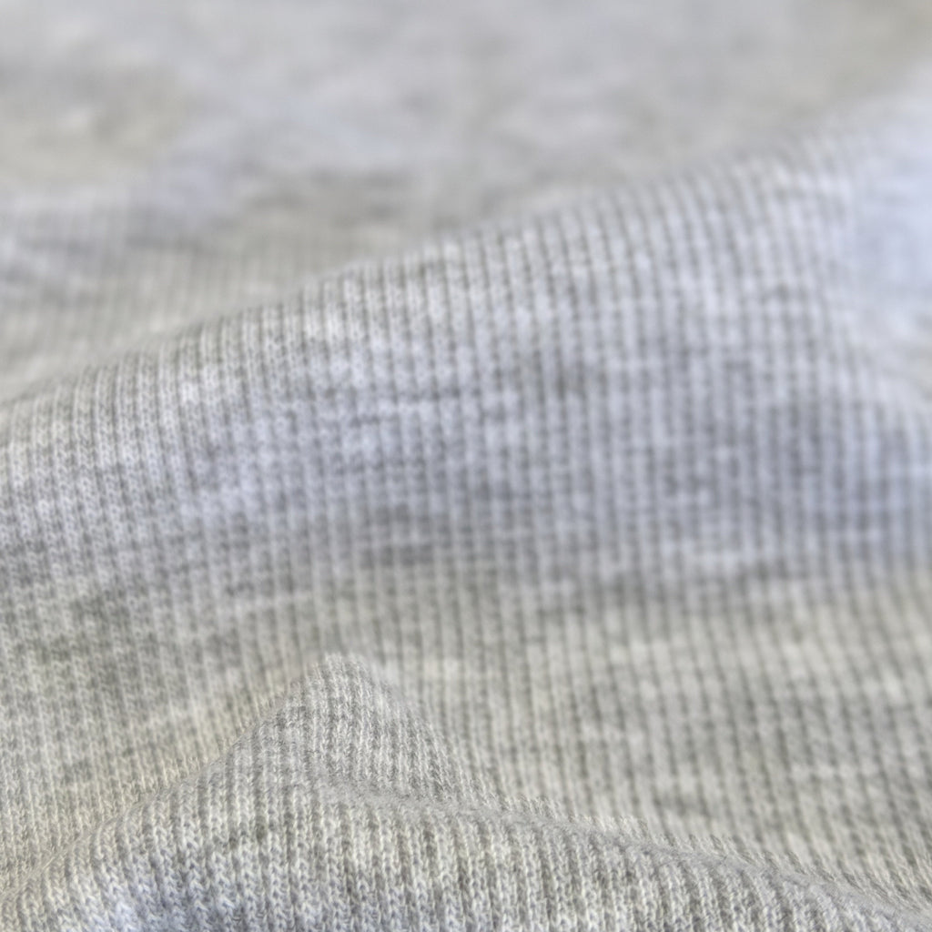 Lyocell & Organic Cotton 2x2 Ribbing - Grey Fog