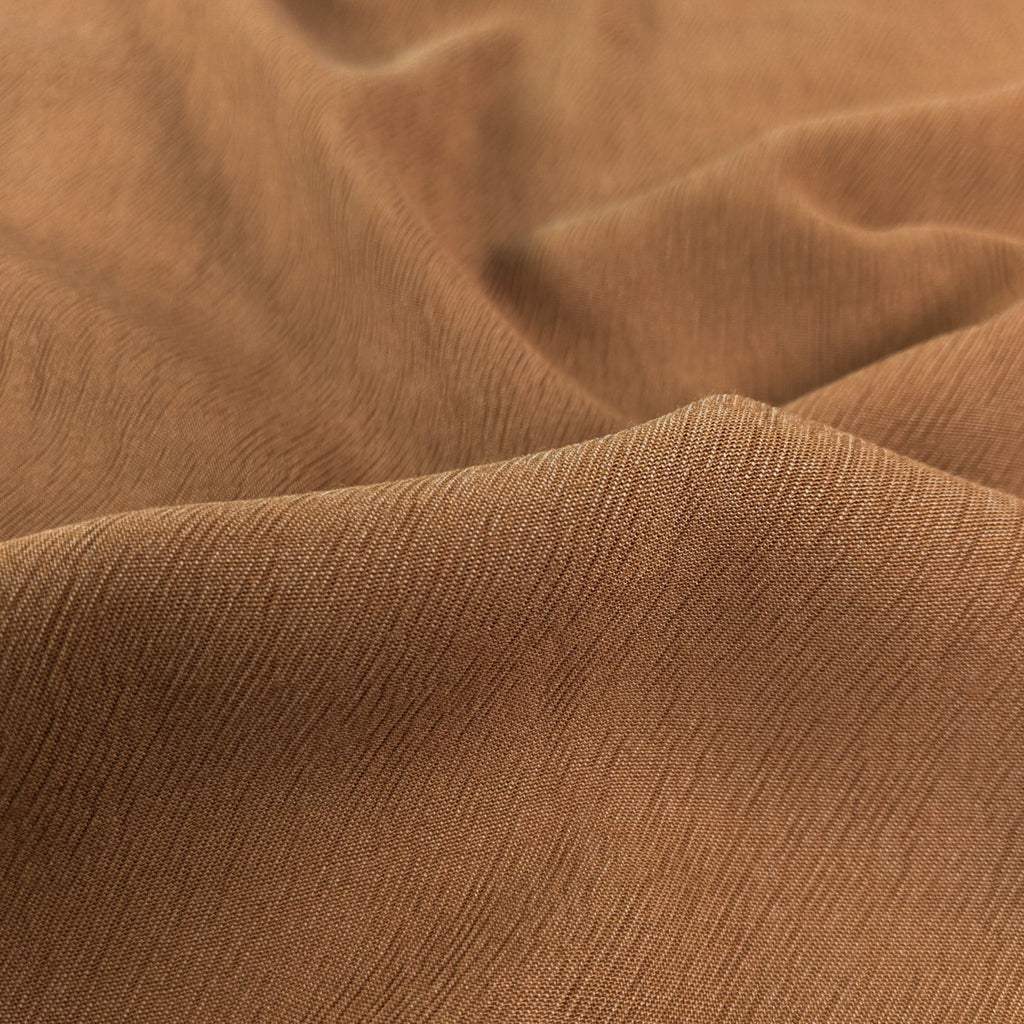 Textured Lyocell Viscose - Hazelnut