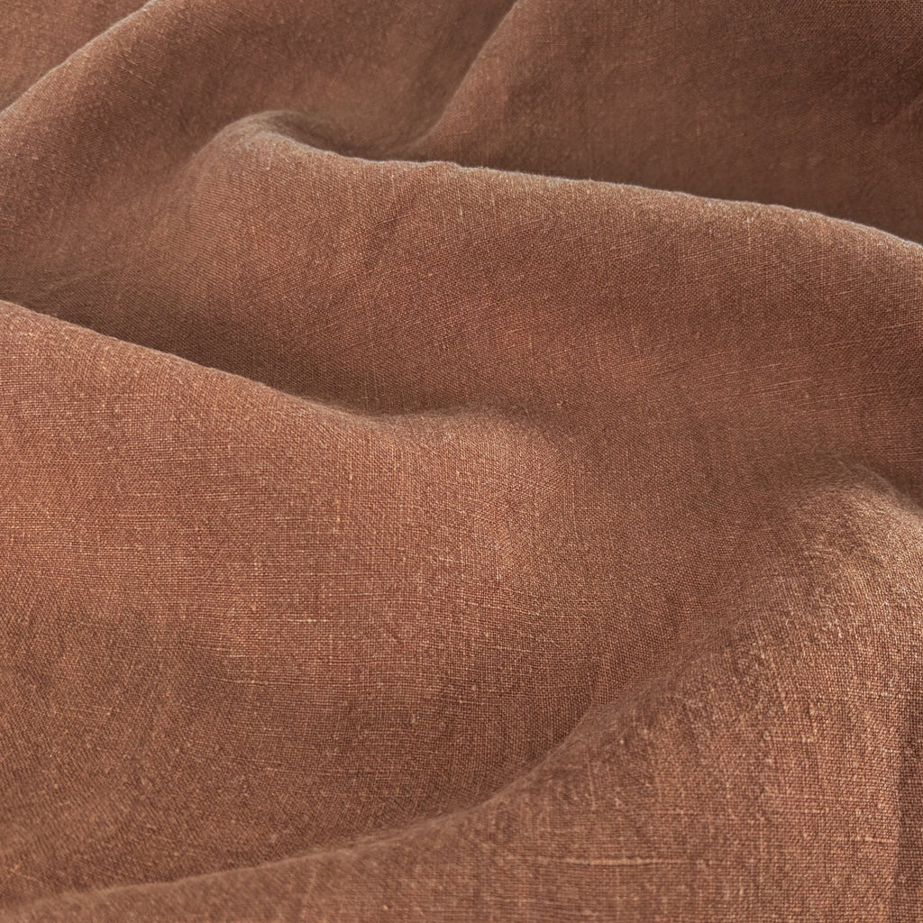 Washed Linen - Cinnamon