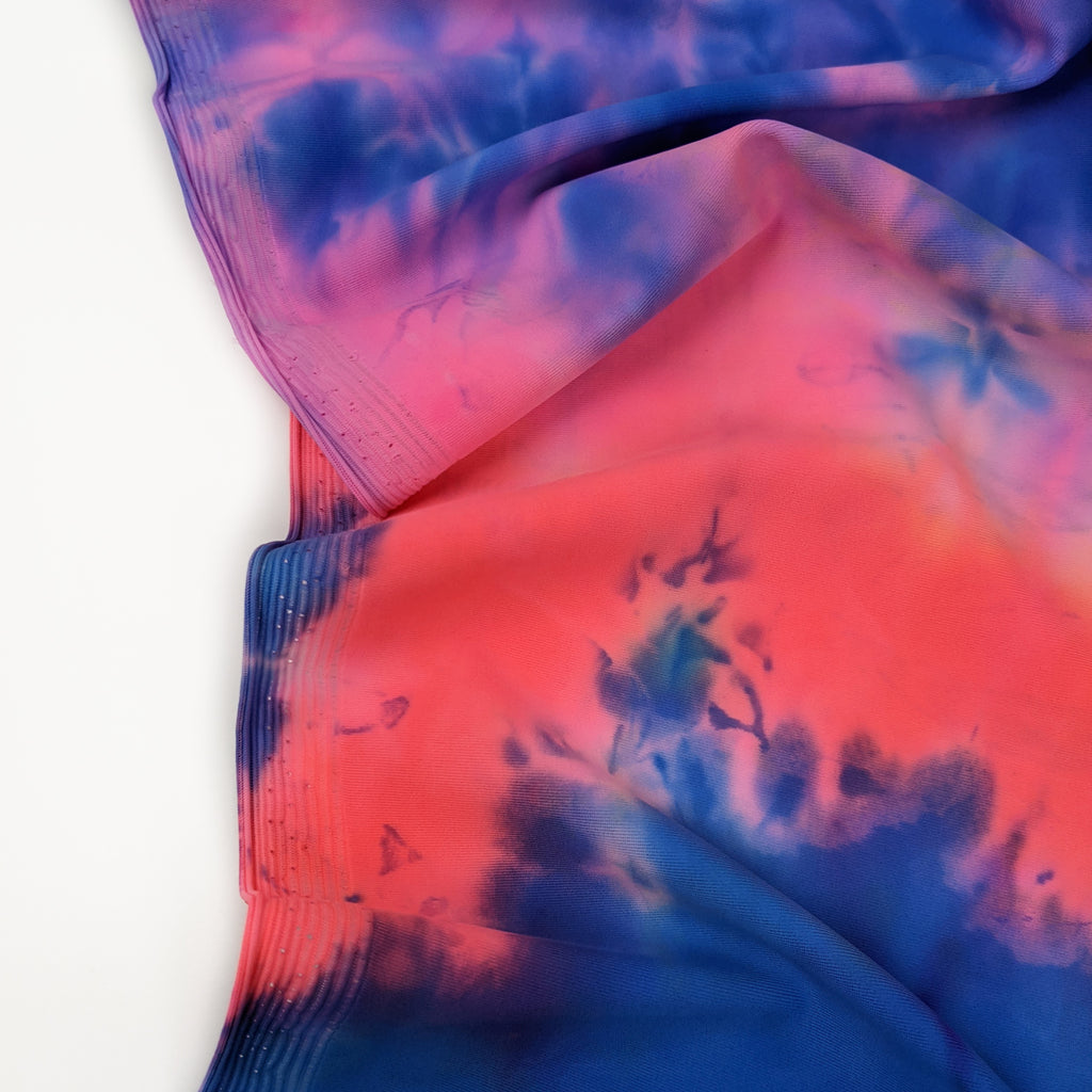Nylon Tricot Athletic Knit - Tie Dye - Dream