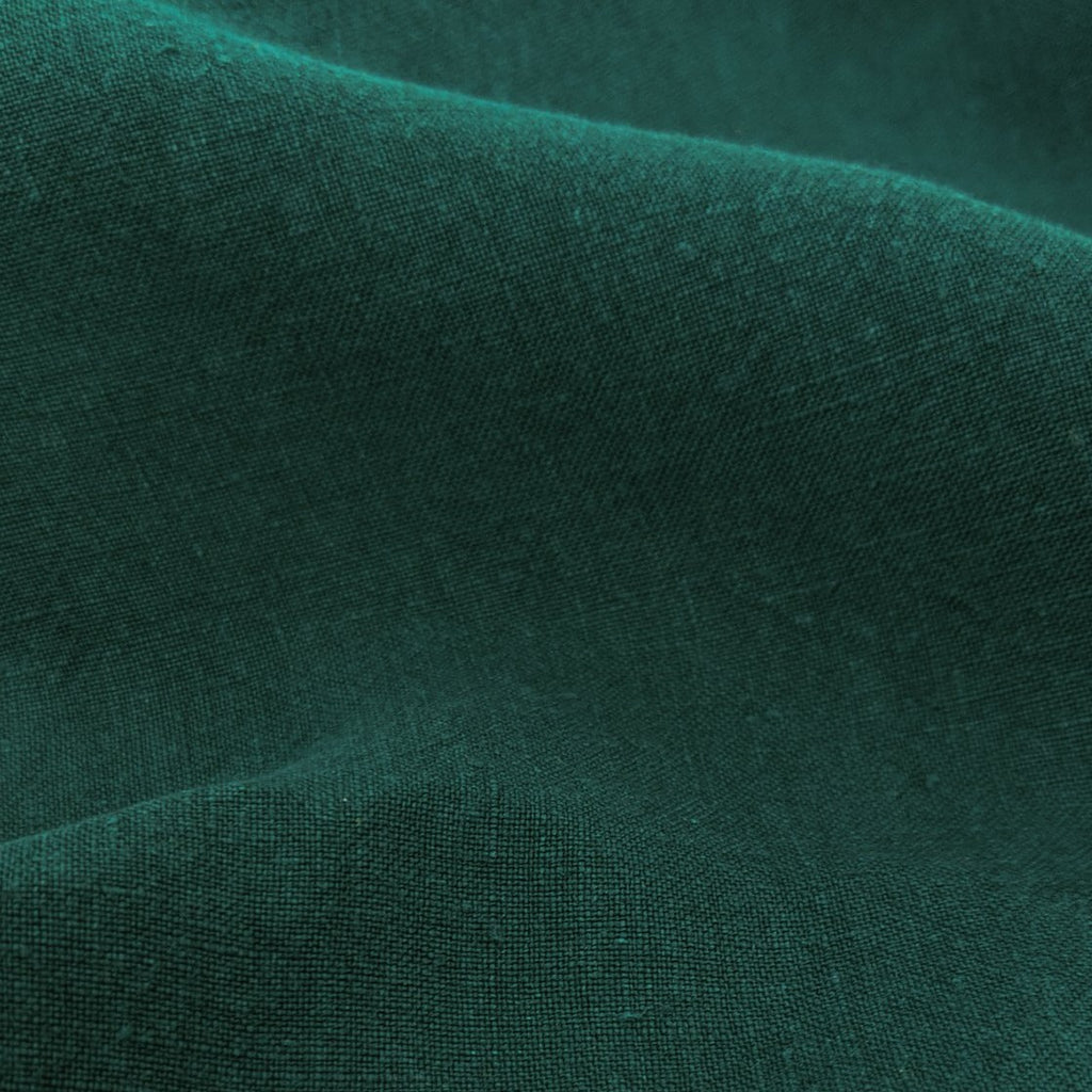 Washed Linen - Emerald