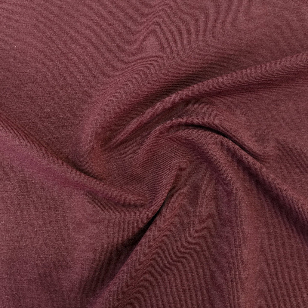 Tencel & Organic Cotton French Terry - Crabapple
