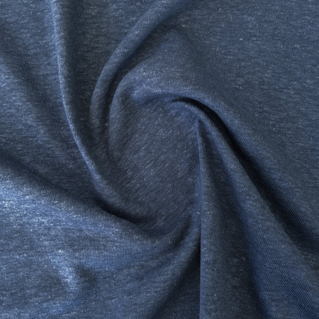 Hemp & Organic Cotton Jersey - Indigo