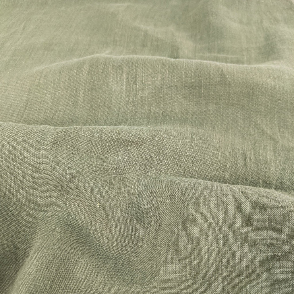 Lightweight Washed Linen - Sage