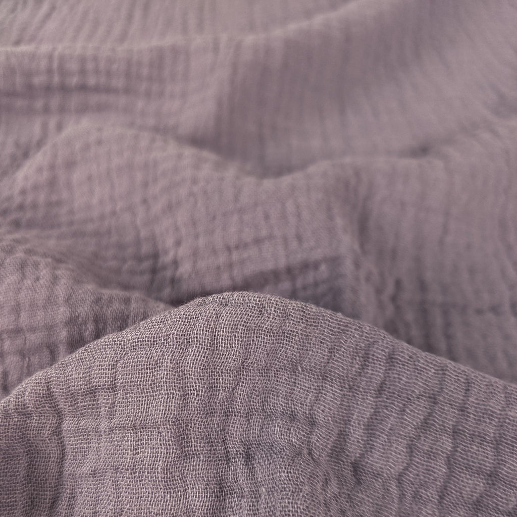 Cotton Double Gauze II - Lilac