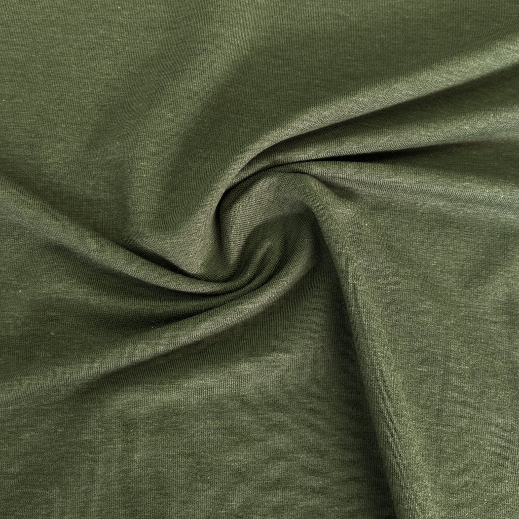 Lyocell & Organic Cotton French Terry - Moss