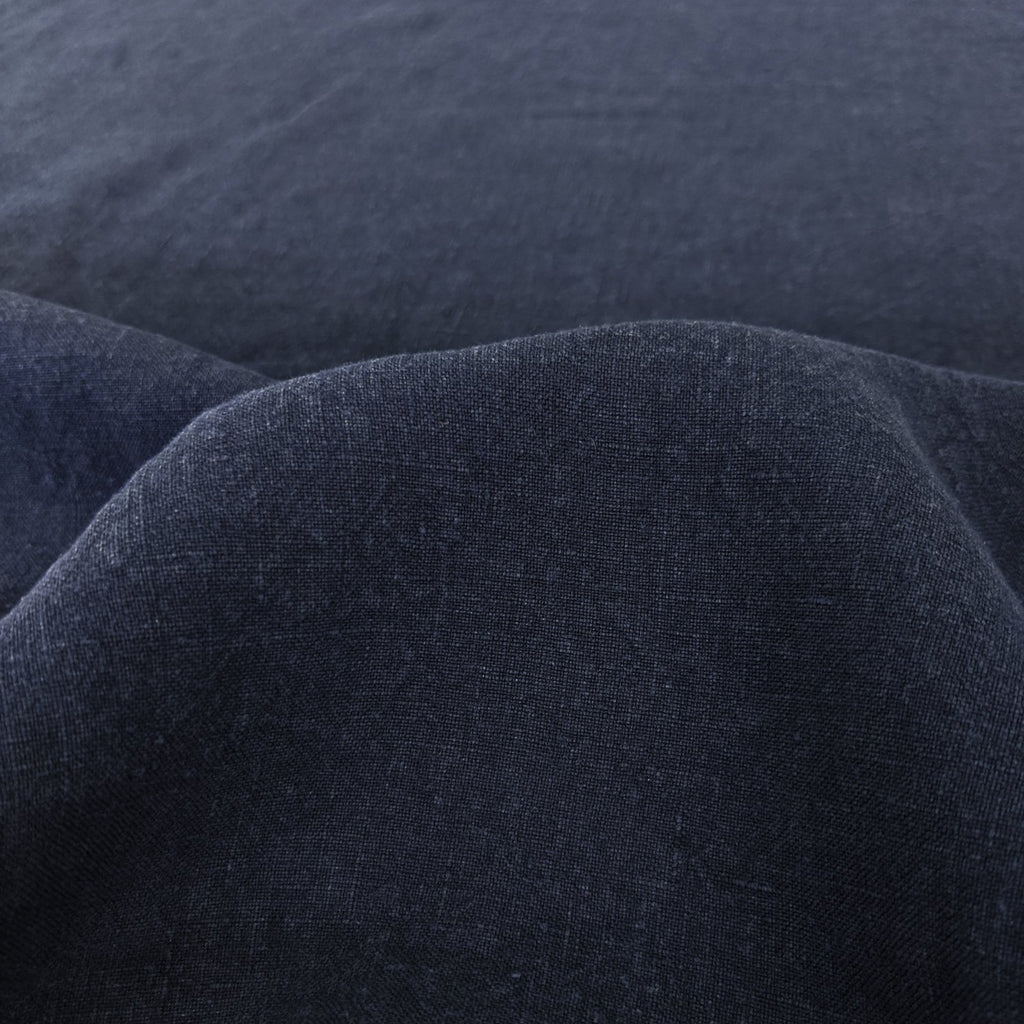 Washed Linen - Navy