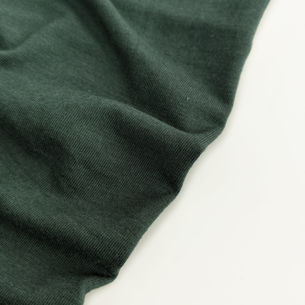 Bamboo & Cotton Jersey Knit - Spruce