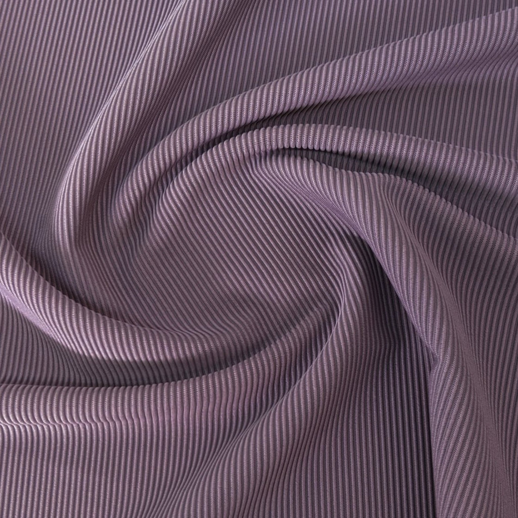 Ribbed Polyester Swim Tricot, Orchid
