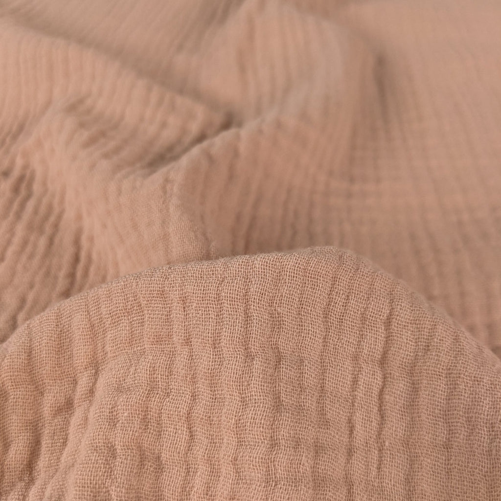 Cotton Double Gauze II - Peachy Pink