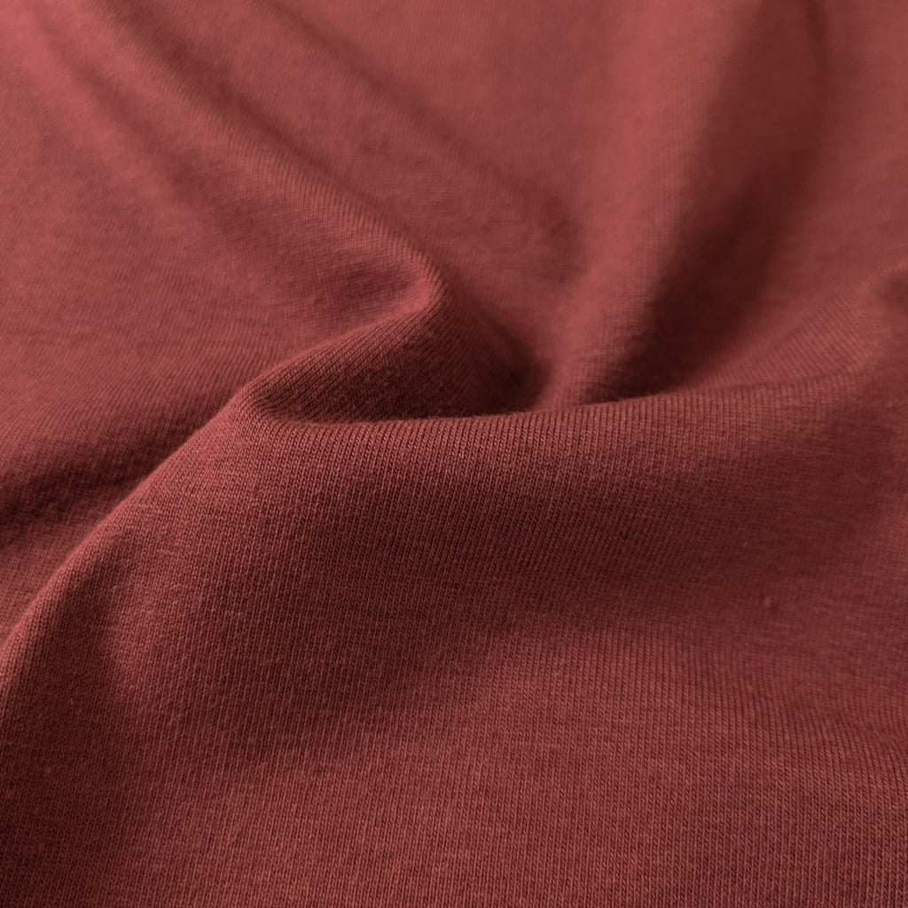 Cotton Modal Jersey Knit (200 gsm), Sienna