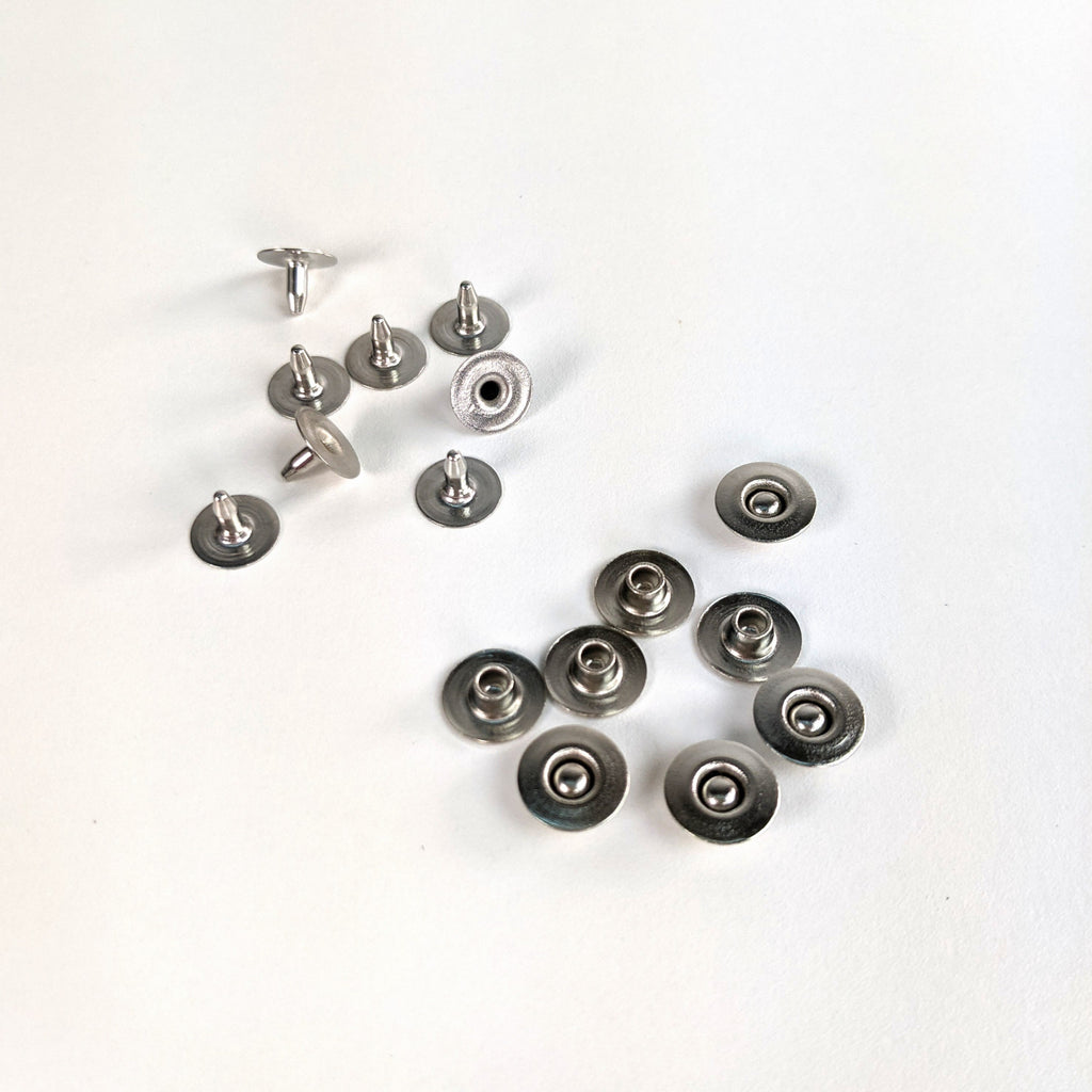 9.5mm Jeans Rivets - Set of 10