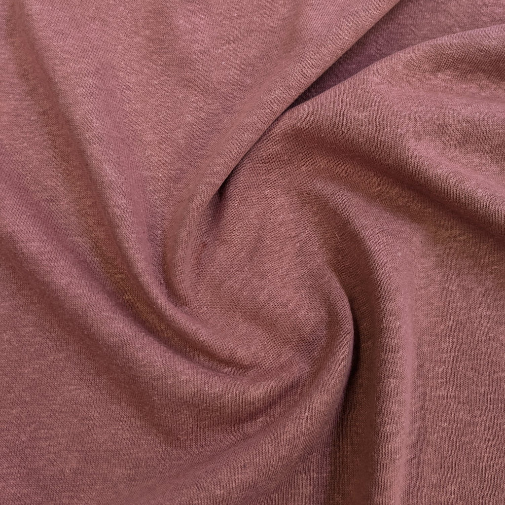 Hemp & Organic Cotton Jersey - Rose